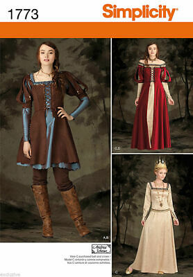 NEW RENAISSANCE HUNGER GAMES SNOW WHITE COSTUME GOWN PATTERN 1773 sz 6-22](Hunger Games Gown)