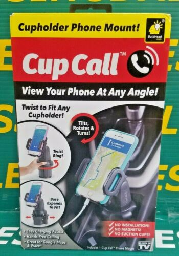 Cup Call Hands-Free Vehicle Cell Phone Mount - As Seen On TV