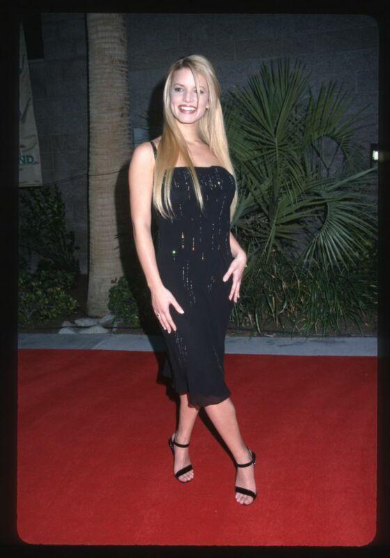 Lot of (5) 1990s JESSICA SIMPSON Original 35mm Slide Transparencies