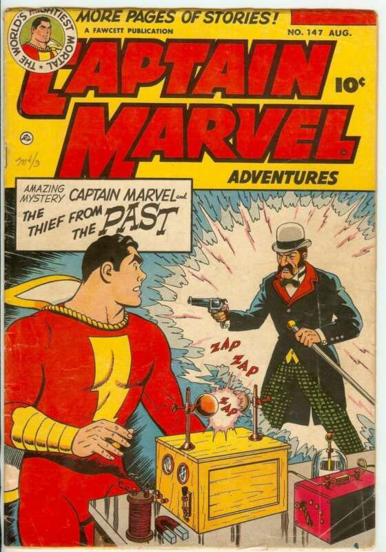 CAPTAIN MARVEL ADVENTURES #147 3.5