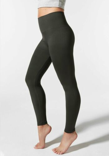 BLANQI Everyday Hipster Support Leggings Black Sz Large L