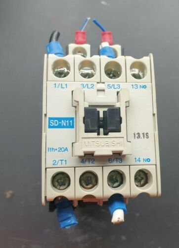 MITSUBISHI SD-N11 MAGNETIC CONTACTOR (IN10S1B1)