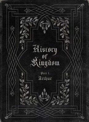 KINGDOM - HISTORY OF KINGDOM: PARTⅠ. ARTHUR Album SEALED+Photocard+etc+Free Ship