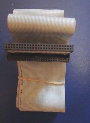 SCSI Cable 1IN 50-PIN 50 CM Hembra Encadenamiento De Apple Sampler Yamaha Akai segunda mano  Embacar hacia Spain