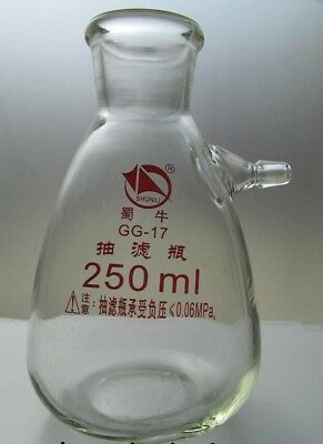 250 Ml Filtering Flask With Upper Nozzles