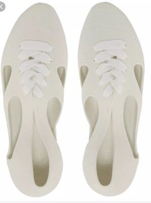 F Troupe Jelly Lace Swimmer Flats Sz 37/7 for sale  New York