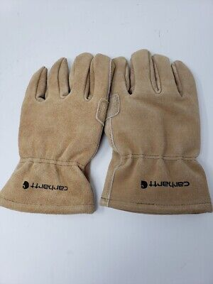 Carhartt Mens Leather Fencer Work Glove X-large Brown