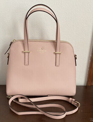 Kate Spade Maise Medium Dome Satchel/Crossbody-Blush/Pink