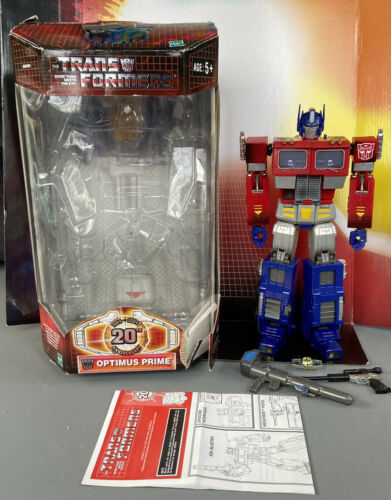 GENTLY USED Hasbro Transformers Masterpiece 20th Anniversary Optimus Prime  - $107.50