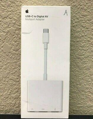 Apple USB-C Digital AV Multiport Adapter   USB-C HDMI USB   MJ1K2AM/A   GB 🔥🔥