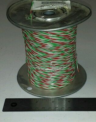 500 Ft Spool M168781fbb97 20awg Greenredwhite Cable Wire 728 600v