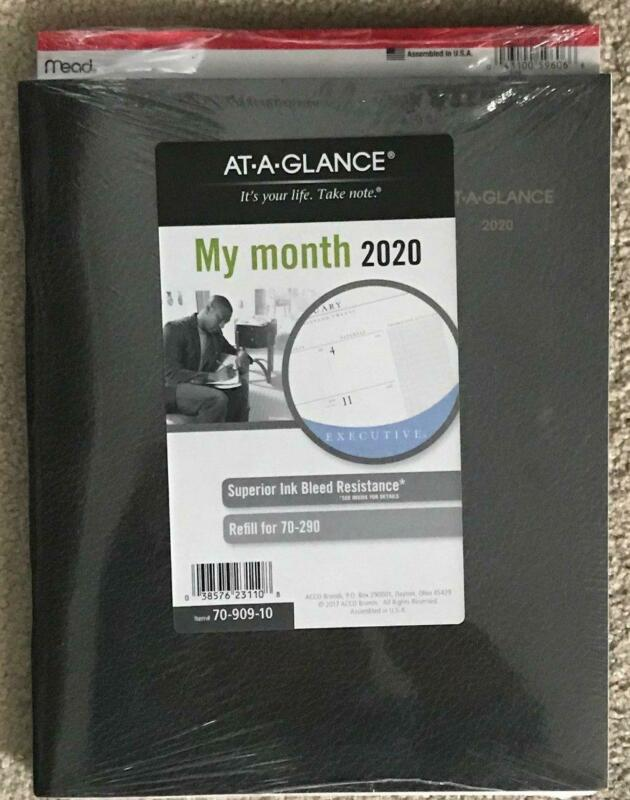 AT-A-GLANCE Monthly  2020 Planner Refill for 70-290