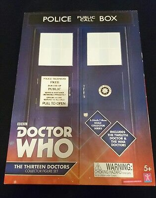 Doctor Who - The Thirteen Doctors - Collector Figure Set - Sealed