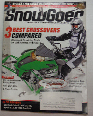 Snowgoer Magazine 3 Best Crossovers Compared February 2012 050815R