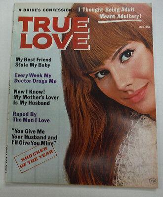 True Love Magazine My Best Friend Stole My Baby May 1970