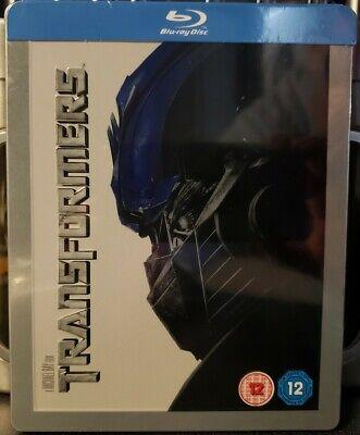 Transformers STEELBOOK - (Blu Ray) - Zavvi Exclusive - Embossed