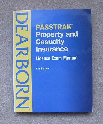 Property And Casualty Insurance   License Exam Manual  6Th Ed