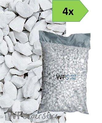Graniglia marmo Bianco Carrara 9/12 - 4 sacchi da 25 kg - sassi pietre giardino
