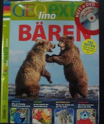 Geo Lino Extra 53- Bären mit DVD Im Land der Bären