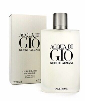 * Acqua Di Gio By Georgio Armani EDT Men,s Spray 6.7 FL Oz New* Free Shipping