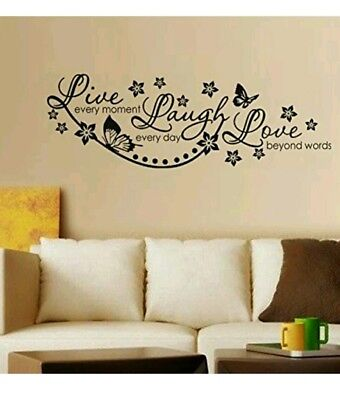 Live Laugh and Love Family  LOGO Wall Sticker home decor decoration living room