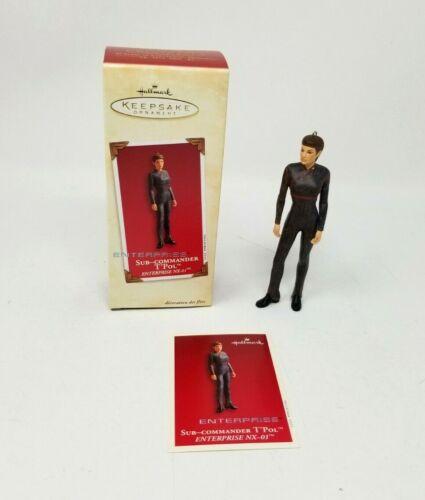 Hallmark Keepsake Ornament 2003 Star Trek Enterprise Sub-Commander T