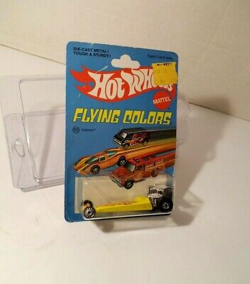1976 Hot Wheels Inferno Rear Engine Dragster Flying Colors in Protecto