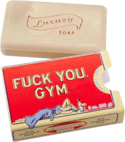 Retro FUCK YOU GMY 50s Luxury Soap / Seife Rockabilly