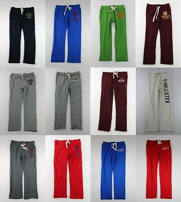 Hollister Mens Slim/classic Straight Or Skinny Sweatpants Pants Fleece