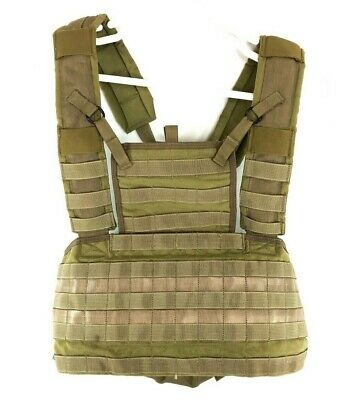 Used, Eagle Industries Rhodesian Recon Vest, Army Khaki, Tactical Vest, USGI SFLCS for sale  Colorado Springs