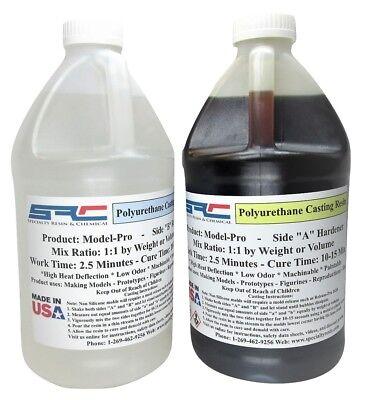 Model Pro Urethane Casting Resin - Liquid Plastic for Models 1 Gallon Kit