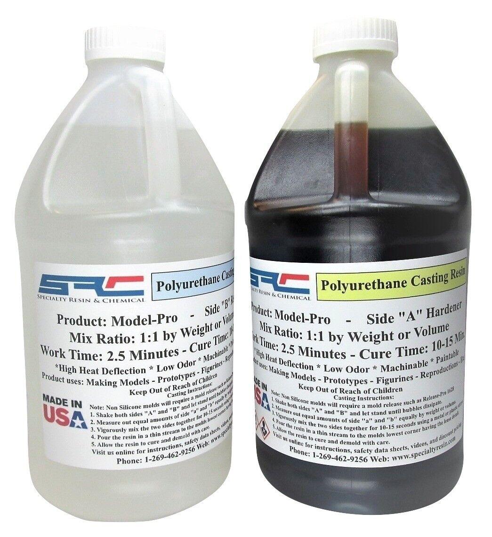 Model Pro Urethane Casting Resin - Liquid Plastic for Models