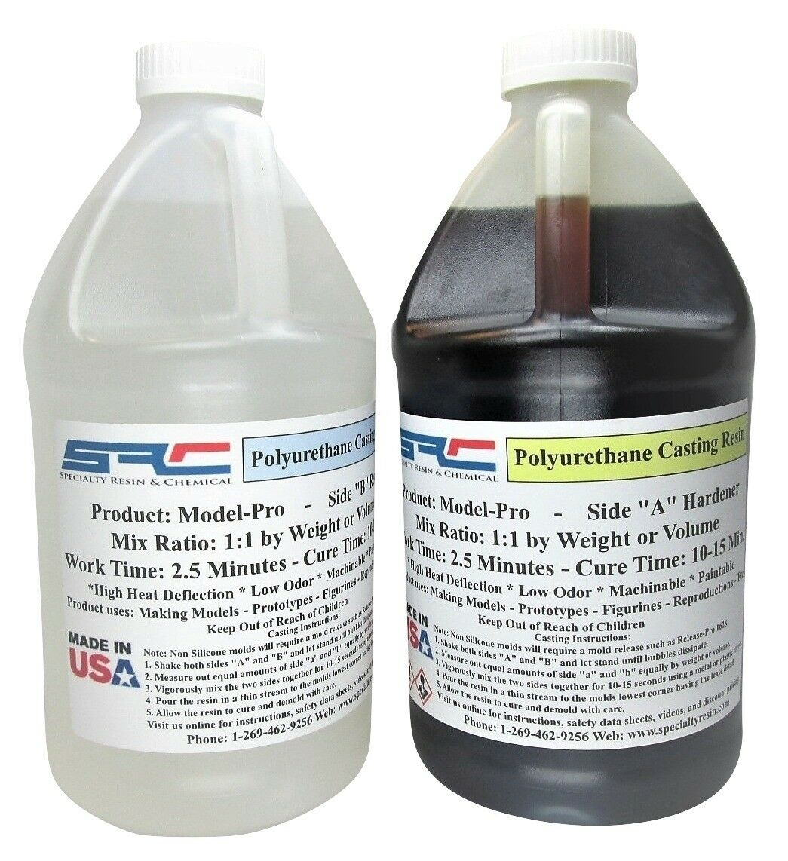 Model-Pro Casting Resin Liquid Plastic Polyurethane 1 Gallon