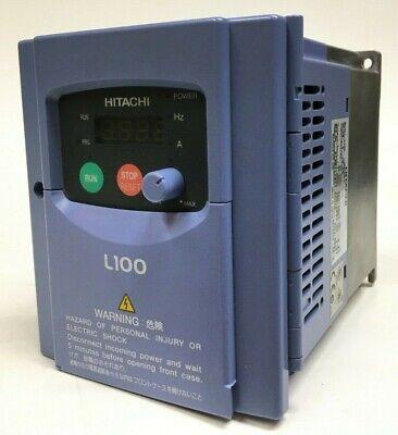Hitachi L100 Inverter Variable Speed Drive L100-007hfu 1hp 460v 3ph Inputoutput