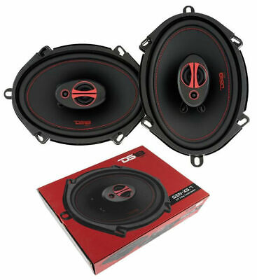 DS18 GEN-X5.7 5x7 150 Watts Max Power 3 Way Coaxial Speakers 4 Ohm 1 Pair - $42.95