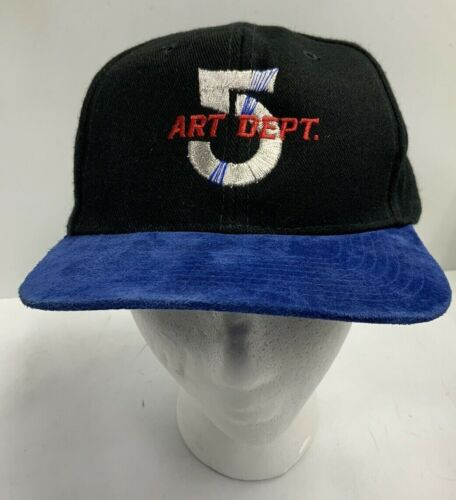 Babylon 5 Art Dept Logo Adjustable Ball Cap Hat Babylon 5 Art Crew