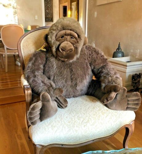 Extremely Rare ( one of a kind ) Large Amy The Gorilla By Dakin Co.