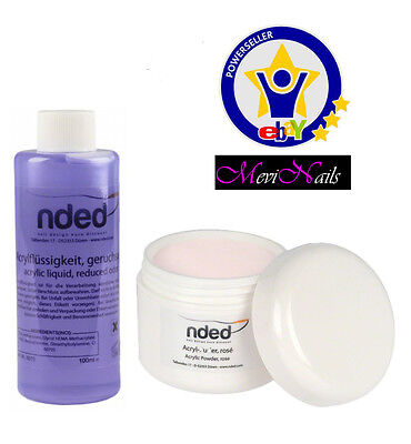 Liquid acrylic's Low Odor - Powder Acrylic Pink High Quality NDED Nails