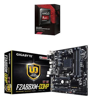 COMBO: AMD A10 7860K CPU + GIGABYTE F2A88XM-D3HP FM2+ micro-ATX Motherboard NEW
