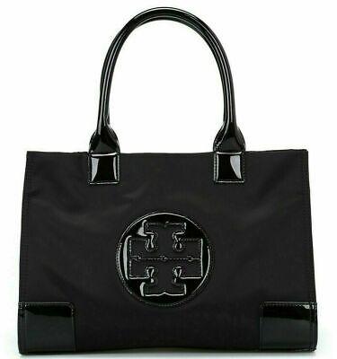 Tory Burch Ella Mini Tote Bag - Black Free Ups Mail