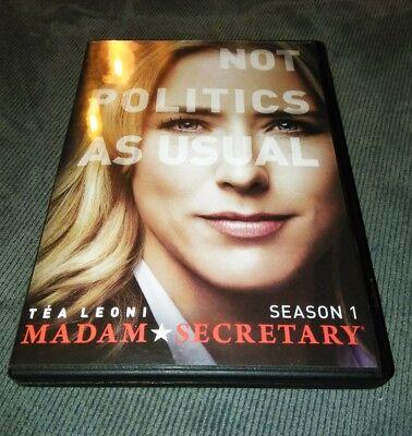 Madam Secretary  Season 1 Dvd  Bebe Neuwirth  Tim Daly  T A Leoni