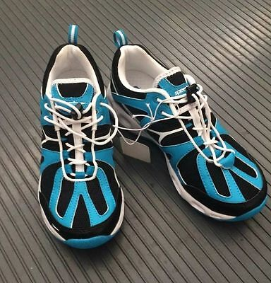 Speedo Women's Hydro Comfort 4.0 Water Shoes- Black/Turquoise SIZE 7