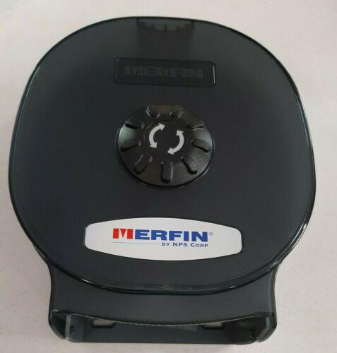 """Merfin Versacore 9"""" Smoke Grey Jumbo Single Tissue Dispenser 521002 NEW"""