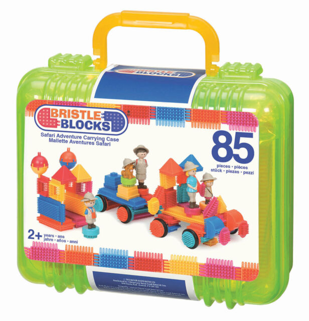 Bristle Blocks Case Safari 85pcs - NEW