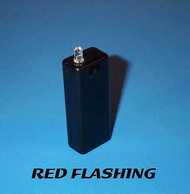 Fake Car Alarm Led Light- Red Blinking Aaa Battery Diy