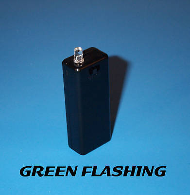 Fake Car Alarm Led - Green Blinking Aaa Batt Aa