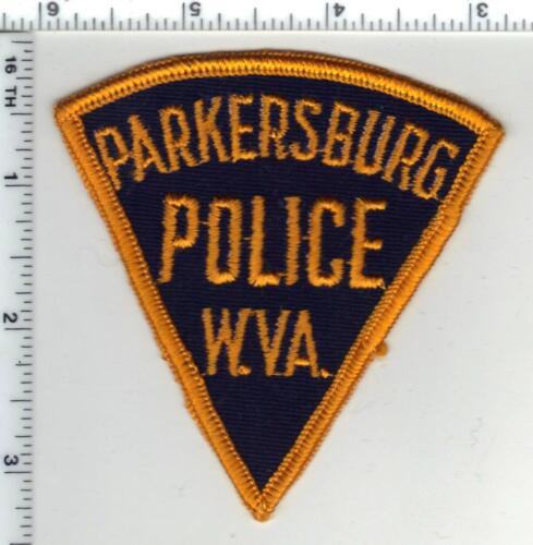 Parkersburg Police (West Virginia) 1st Issue Shoulder Patch