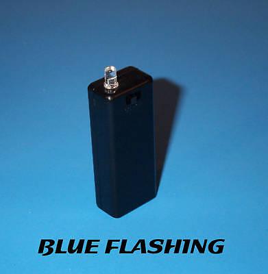 Fake Car Alarm Led Light - Blue Blinking Aaa Battery