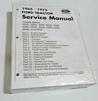 2000 - 7000 Ford Tractor Technical Service Shop Repair Dealer Manual 913 Pages