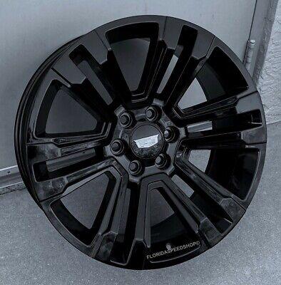 Gloss Black Cadillac Escalade Style Wheels  22X9